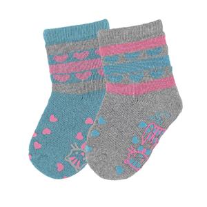 Sterntaler Baby-M/ädchen Chaussettes Antid/ã/£/ârapantes Pour Ramper Dp Giraffe Socken