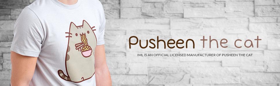 Amazon.com: Camiseta de Pusheen para hombres: Clothing