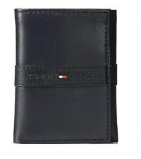 tommy hilfiger trifold mens wallet