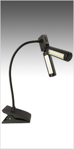 battery operated LED grill BBQ light lite