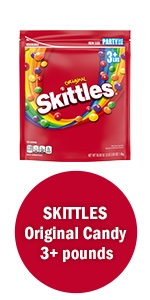 Skittles Candy Party Size Bag