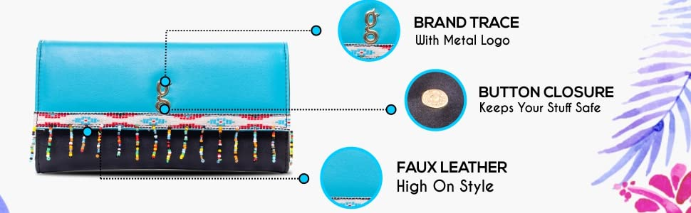 global desi Fashion Plus Women's Wallet