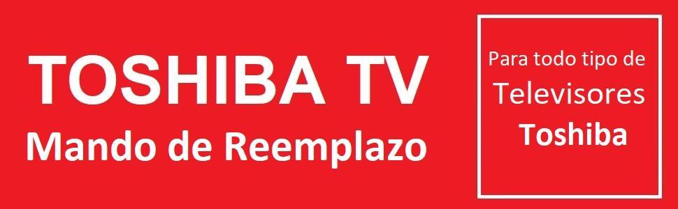 One For All URC1919 - Mando a Distancia de reemplazo para televisores Toshiba, Color Negro: Amazon.es: Electrónica