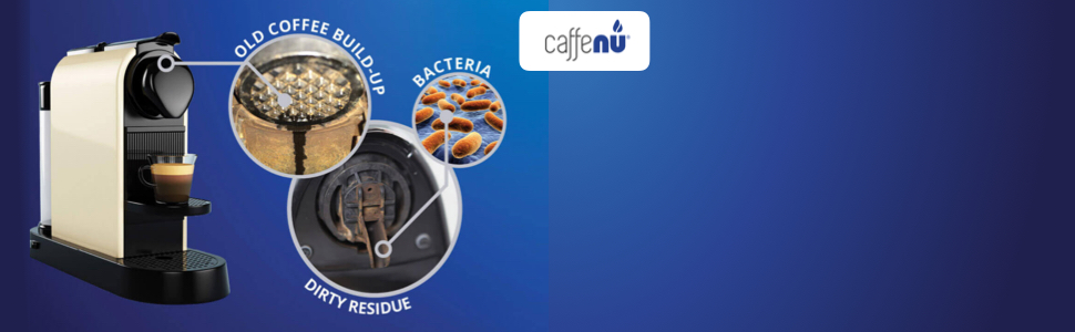 Amazon.com: caffenu Cápsulas de limpieza para máquina de ...
