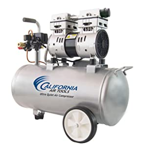 California Air Tools 8010 Ultra Quiet & Oil-Free 1.0 hp