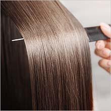 内側からダメージを補修し、1本1本をしなやかな髪へ