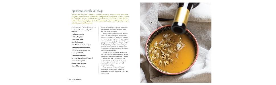 Slow Beauty, squash soup