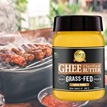 Ghee Butter for cooking, roasting, grilling