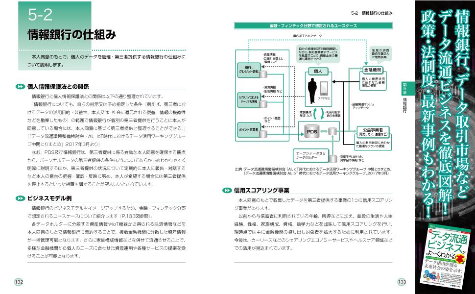 図解入門 ビジネス データ流通 情報銀行 データ取引市場 GDPR 個人情報 政策