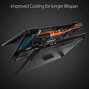 Upgraded Cooling Performance