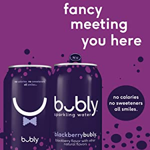 Amazon.com: bubly Sparkling Water, Apple, 12 fl oz. cans