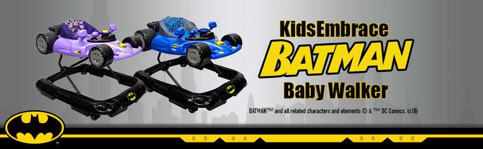 Free Shipping!! KidsEmbrace Baby Batman Walker Brand New!