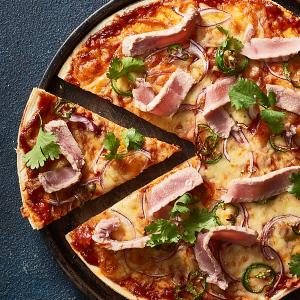 pizza, tomato, knorr, pronto napoli