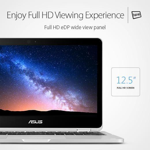 ASUS C302CA-GU010 360 Degrees Rotatable Full HD