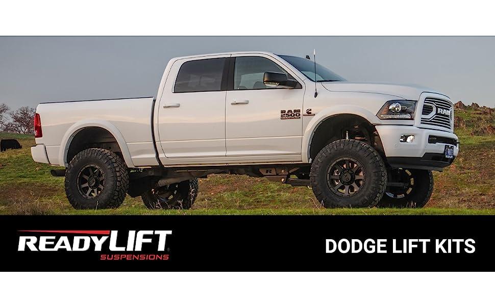 Dodge Ram lift kit