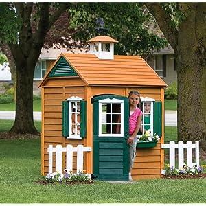 Amazon Com Big Backyard Bayberry Playhouse Toys Amp Games
