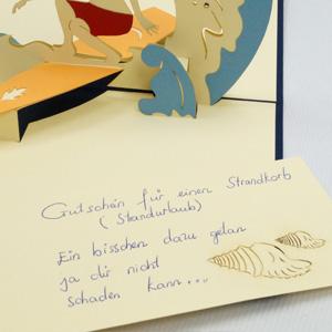 Linpop Grußkarten Glückwunschkarten Ruherstandkarten Urlaubskarten Reisegutsch