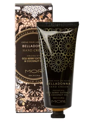 belladonna;body;skincare;lotion;hand;mor