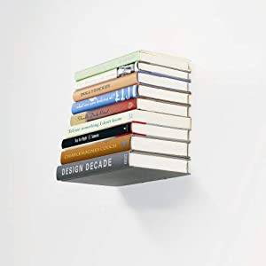 floating bookshelf, invisible shelf, wall book organizer, floating shelf, invisible bookshelf
