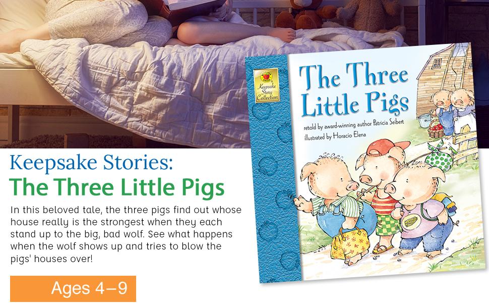 Keepsake Story: Three Little Pigs
