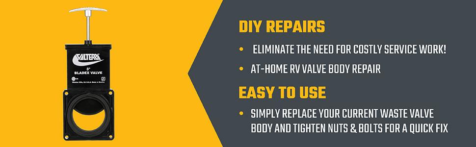 DIY repairs, easy to use