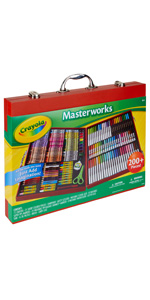 masterworks art case, coloring supplies, coloring kit, art supplies, art case,