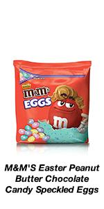 This Easter, grab M&M'S Peanut Butter Speckled Eggs for more fun.