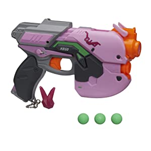 d.va; overwatch; nerf rival gun; nerf rival overwatch blasters; dva; reaper; mccree; rival rounds