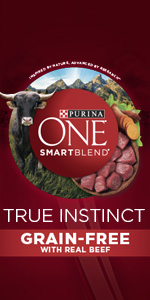 Purina ONE SmartBlend True Instinct Natural Grain Free Formula With Real Beef adult dry dog food