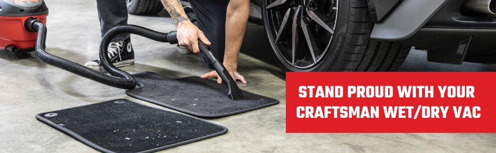 CRAFTSMAN car wet dry vac vacuum portable attachment accessory shop vac nozzle carpet upholstery