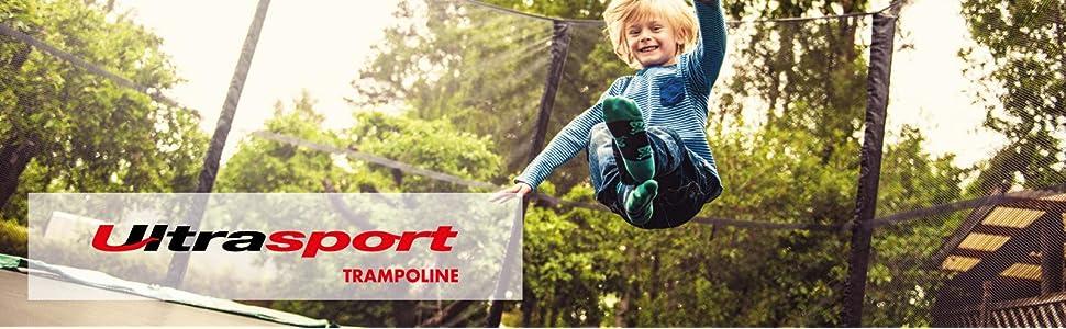con Cremallera Unisex Resistente a Rayos UV Compatible con el Modelo Ultrasport Jumper Wave Red de Seguridad para Cama el/ástica Accesorio