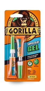 Gorilla Super Lijm Gel 2x3g