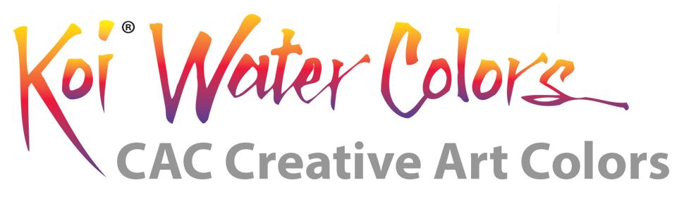 Koi Water Colors CAC Creative Art Colors