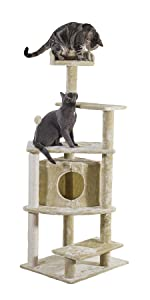 platform; house; cat; tree; playground