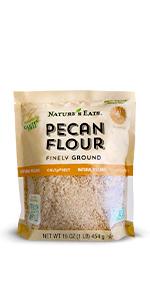 pecan flour, chart
