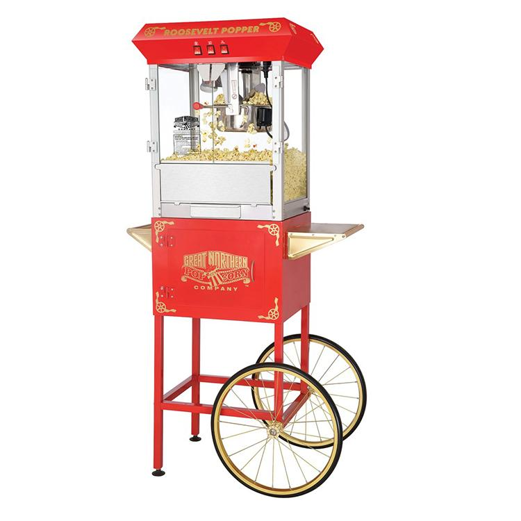 great northern popcorn 6010 roosevelt top antique style popcorn popper machine 8. Black Bedroom Furniture Sets. Home Design Ideas