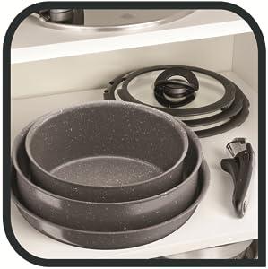 tefal;meteor;extrarésistant;antiadhésif;thermospot;céramique;cuisson;poêle;casserole;wok;ingenio