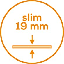 grosor de 19mm