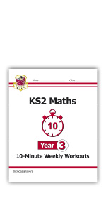 KS2 Maths - 10-Minute Weekly Workouts