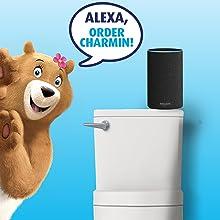 ALEXA, Order Charmin