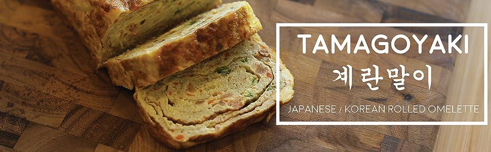 Egg pan tamagoyaki square pan omelet omelette