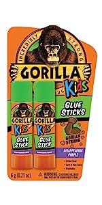 Gorilla Kids Glue Sticks