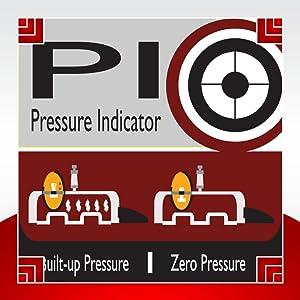 Prestige Induction Base Hard Anodized Pressure Handi