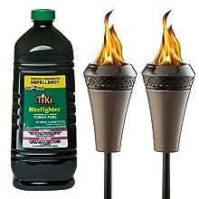 island king large flame torch; island king torch; large flame torch; backyard torches; garden torch