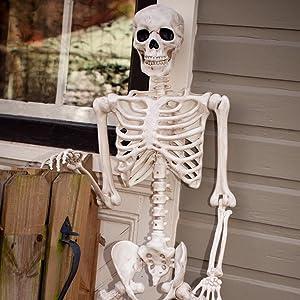 Unique Halloween Decorations: Posable Halloween Skeleton