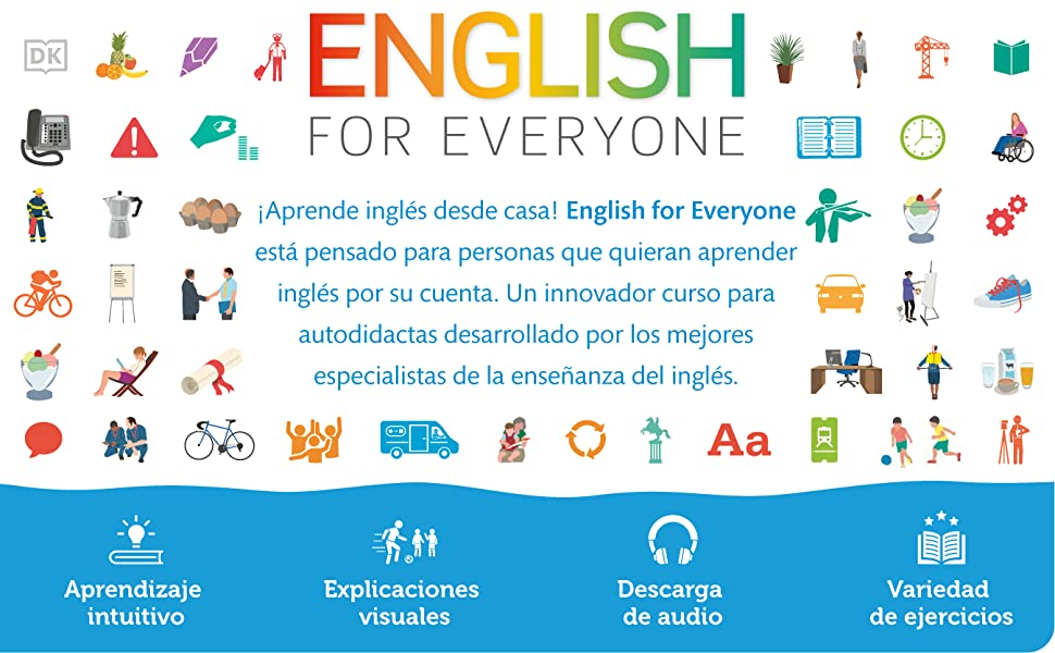 English For Everyone Idioms Modismos And Expresiones Idomáticas Dle Inglés Spanish Edition Dk 9781465485328 Books