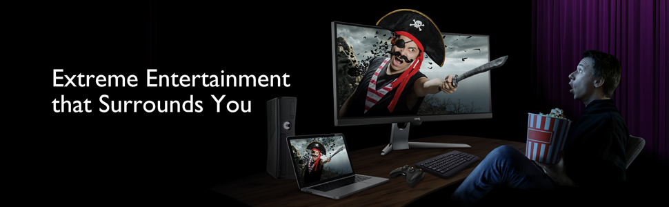 Finest personal entertainment experience (BenQ EX3501R)