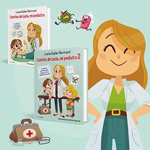 Lucía mi pediatra, pediatra, cuentos de lucia mi pediatra, Lucía Galan Bertrand