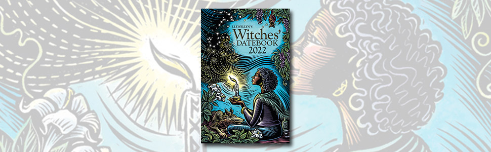 2022 almanac, 2022 datebook, witches datebook, witch's spell a day, spells, witchcraft