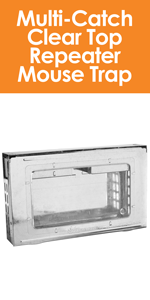 Southern Homewares Multi-Catch Clear Top Humane Repeater Mouse Trap